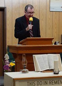Pastor Tom Eastman